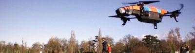 usage civil du drone: loisirs
