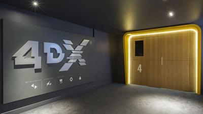 film au format 4dx, salles cinéma 4DX