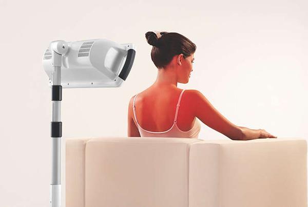 lampes infrarouges et douleurs