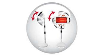Lampe halogène infrarouge Philips InfraCare