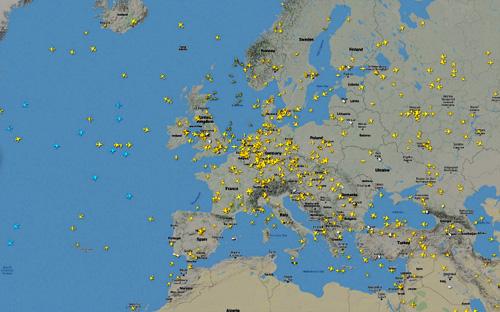 Surveiller le trafic aérien et maritime en temps réel radar avion temps réel