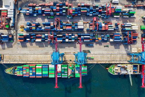 trafic aérien et maritime